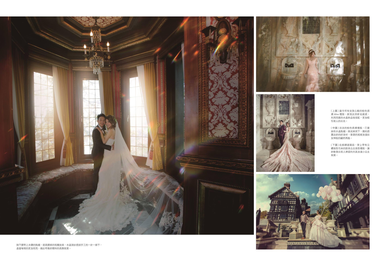 [花婚嫁]婚紗推薦。上了雜誌的老英格蘭的絕美婚紗。華納婚紗評價