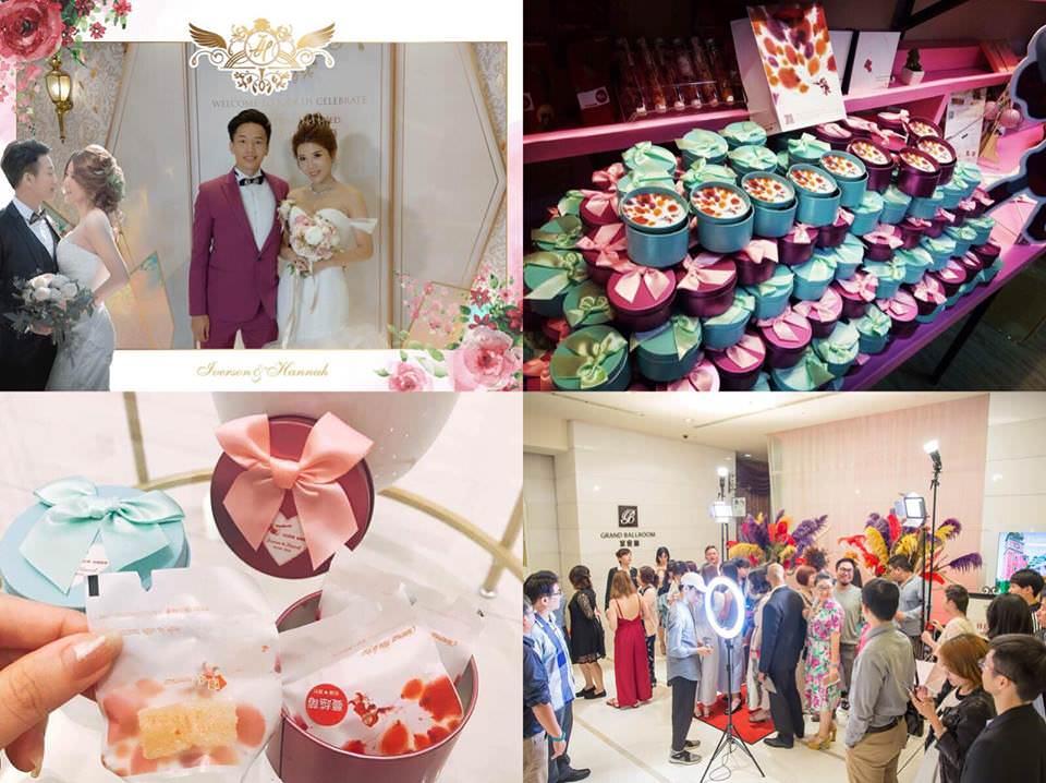 [花婚嫁]讓賓客感覺像參加時尚派對的。愛分享拍貼。頃吃法式手工軟糖。婚禮小物推薦