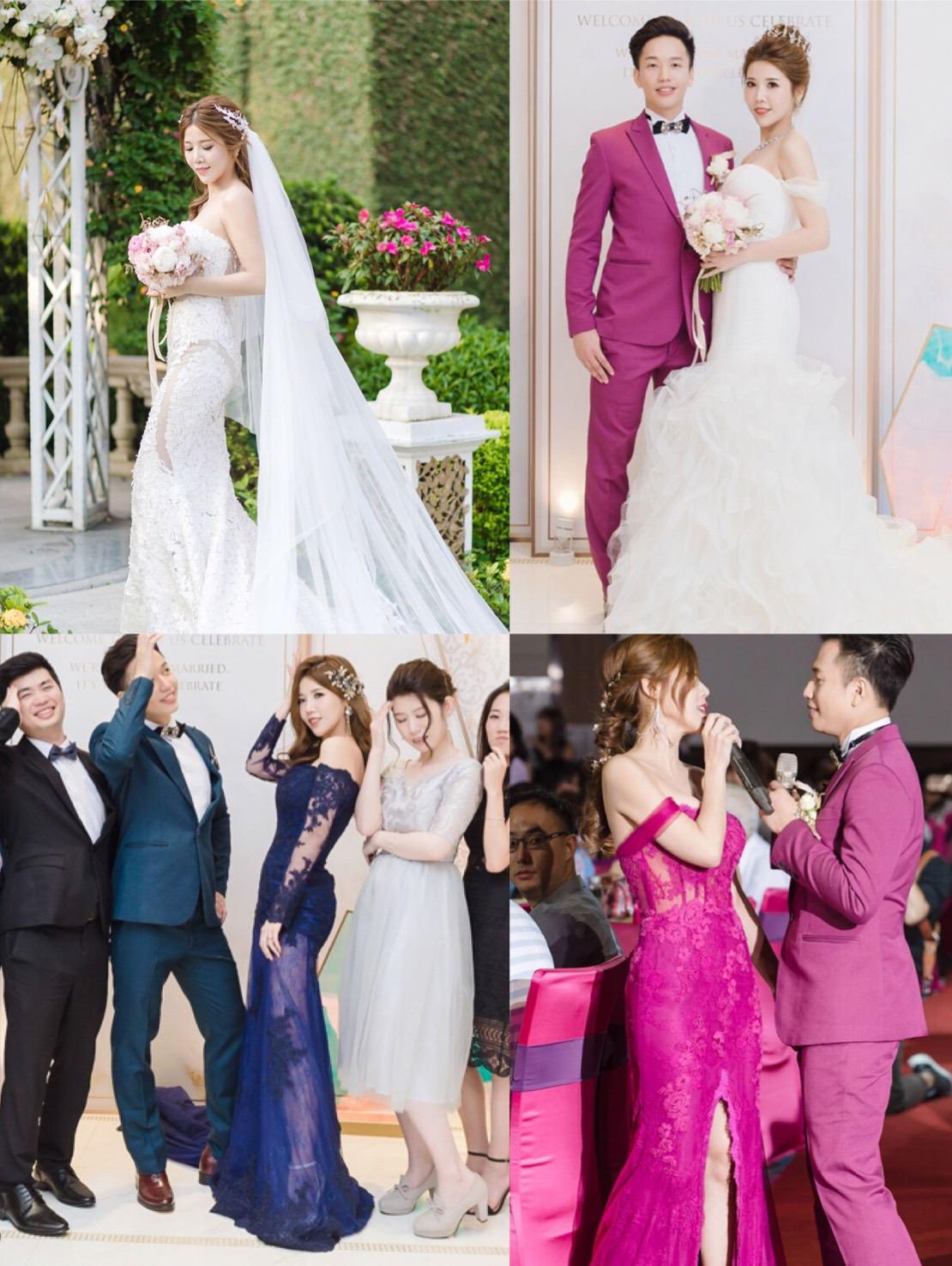 [花婚嫁]美到像仙女衣裳的婚紗禮服。華納婚紗