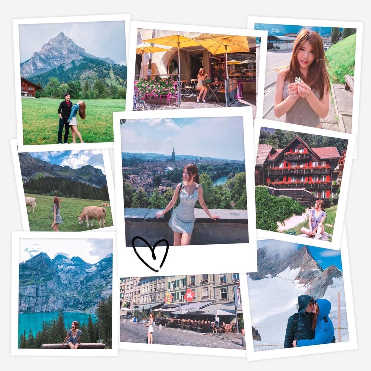 [花蜜月]瑞士蜜月推薦。伯恩。茵特拉根。少女峰