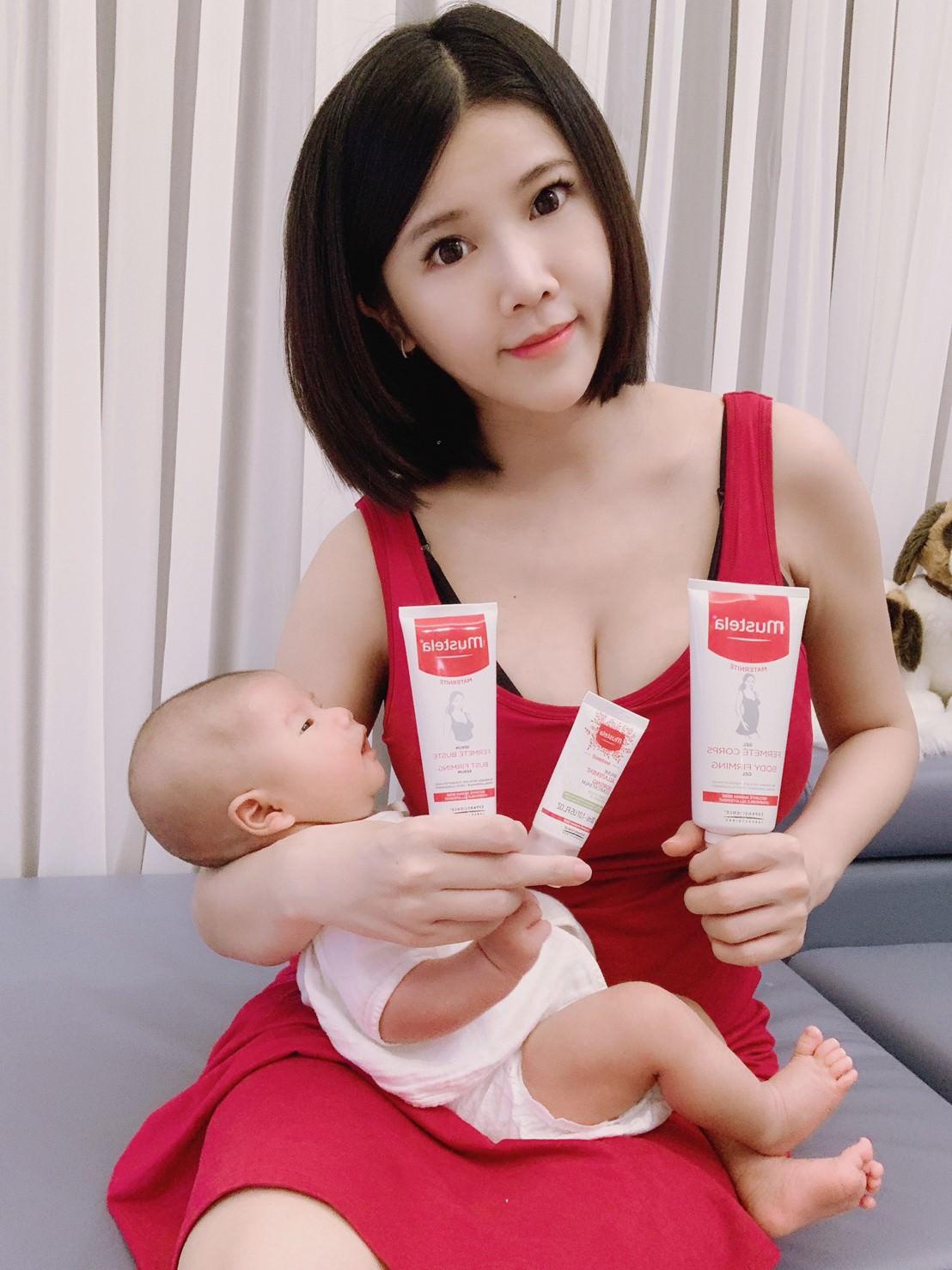 [花花育兒日記]讓我產後也可以安心保養肌膚的。Mustela慕之恬廊慕之孕系列