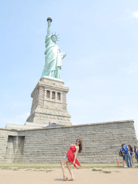 [紐約自由行]完美的旅遊路線。自由女神x三一教堂x華爾街