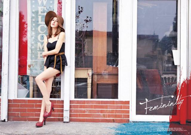 [服裝]2011早春穿搭就用女神來示範吧!