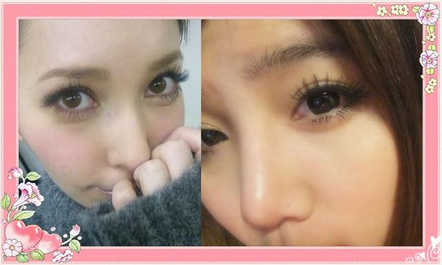 [彩妝]只要兩步驟 蠢蛋都會的仿女神LENA眼妝