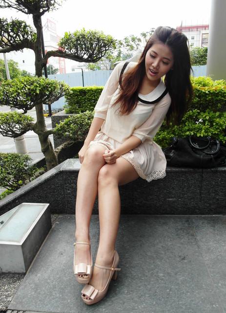 [美鞋]春天的甜美裸腿露趾Show。都在平價時尚的BONJURE
