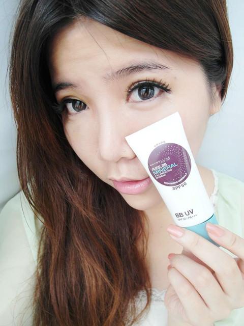 [彩妝]媚比琳超清爽終極UV防護。會透氣的純淨礦物防曬BB霜+全新高效防曬蜜粉餅推薦