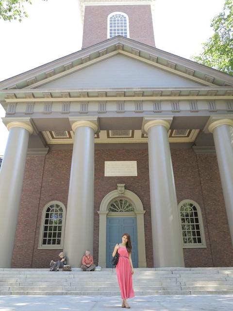 [美國自由行]太驚人的第一學府。充滿氣質書香味的哈佛大學