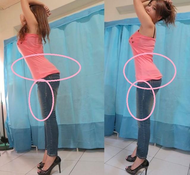 [share]塑腰又翹臀。芭絲媞塑身九分褲