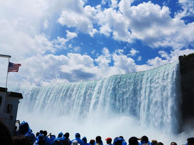 [美國自由行]置身仙境的尼加拉瀑布x加拿大彩虹橋
