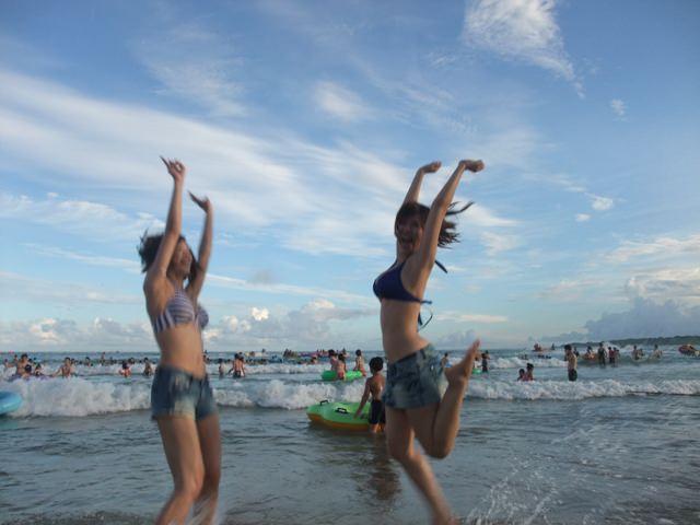[花花遊墾丁]夏天怎麼可以沒有陽光 沙灘 比基尼