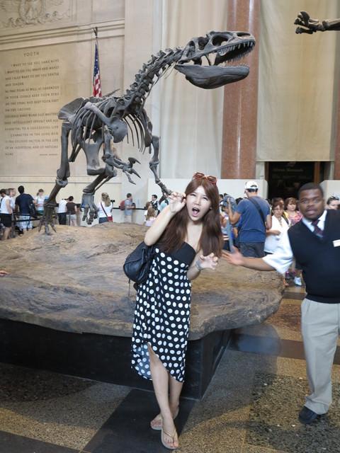 [紐約自由行]花花在紐約博物館驚魂夜現場為您做連線報導!